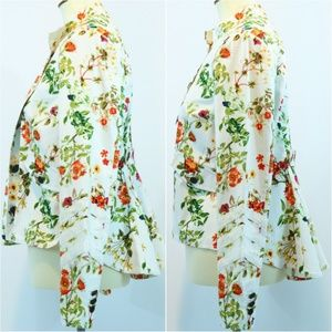 Disney Alice Through Looking Glass Floral Jacket